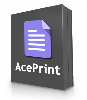 AcePrint Product Samples
