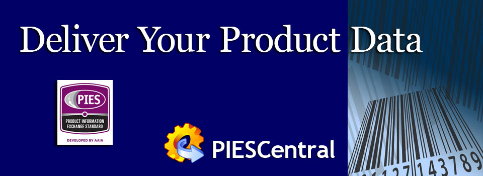 Deliver PIES product data